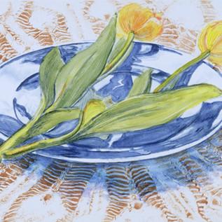 Blue Plate with Tulips I72dpi.jpg