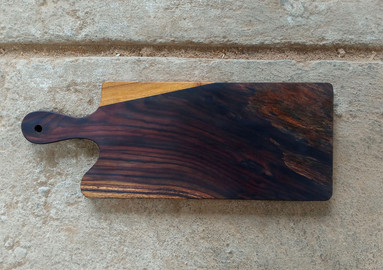 Serving and Cutting Wooden Board