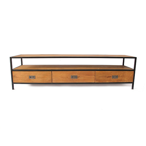 Large Tv Stand - Recycled Teak