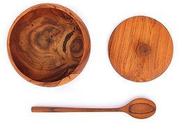 Handmade wooden kitchen accessories