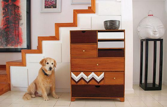 Teak cupboard designer furniture
