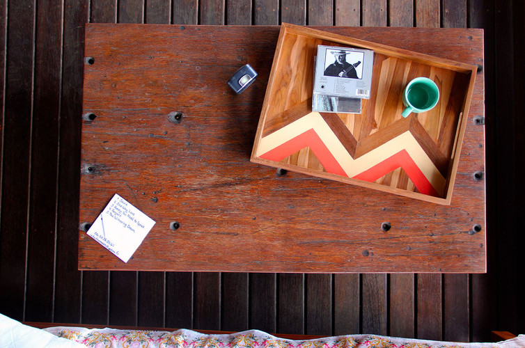 One-Sided - Two-sided Wooden Serving Tray