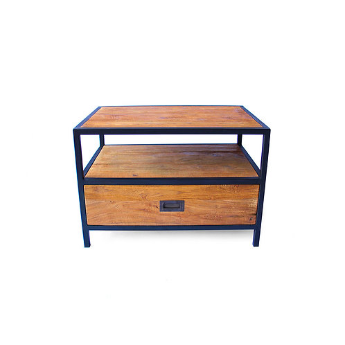 Small Rectangle Coffee Table - Recycled Teak