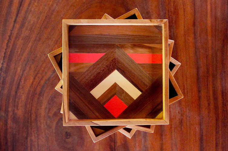 Squared - Two-sided Wooden Serving Tray