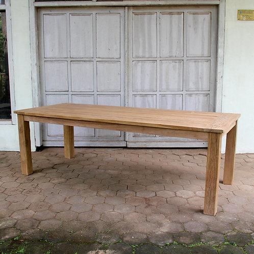 Rectangular  Garden Table / Recycled Teak