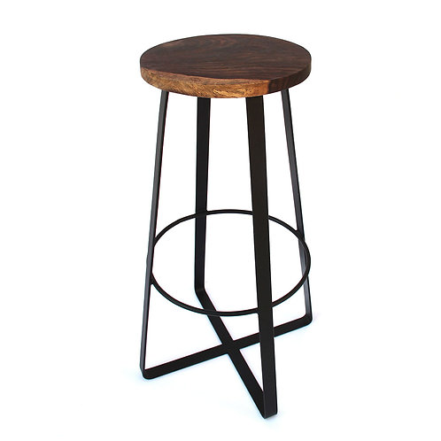 Two Mindset - Rosewood Bar Stool