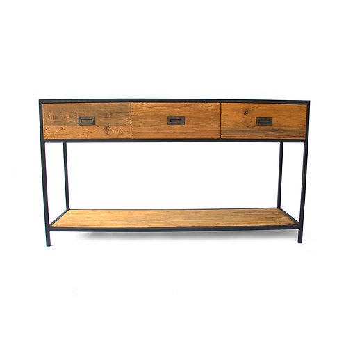Console - Recycled Teak