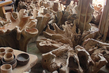 Indonesian Root Wood