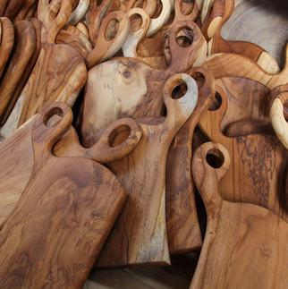 teak wood chopping board