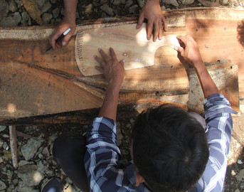 Wood Working Cutting Board