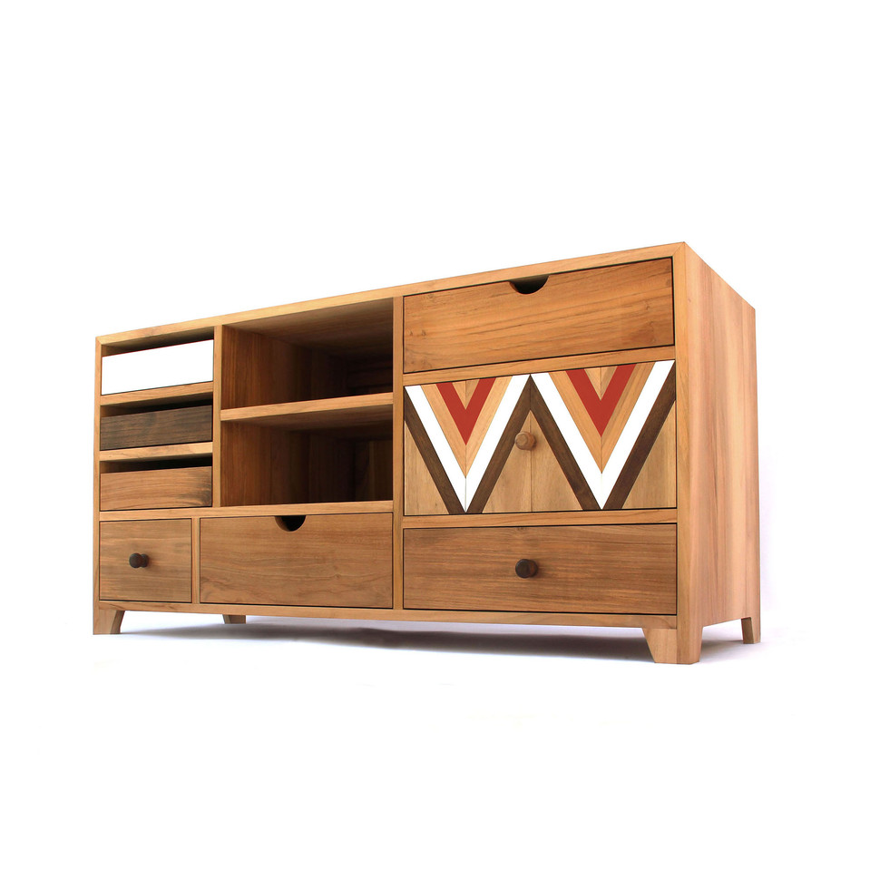 Custom Wooden Cabinet - Furniture- Ed and Coco - Indonesia