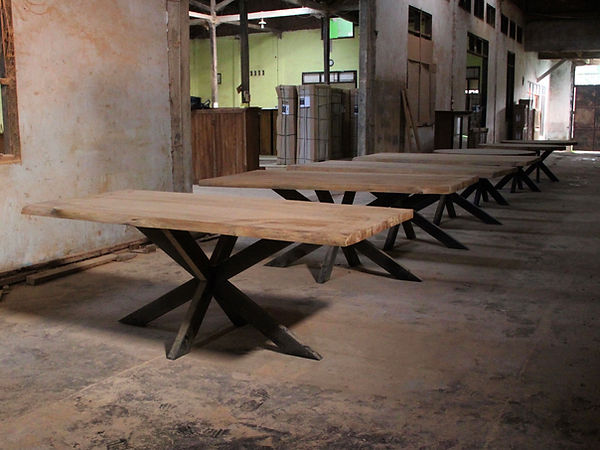 Bali Industrial chic furniture