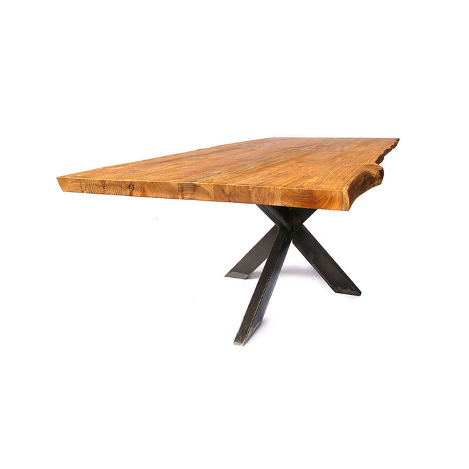 Live Edge Dining Table - Spider Legs