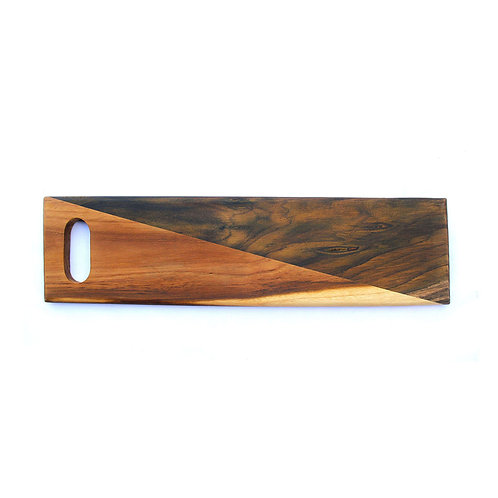 Teak & Rosewood - Striped Chopping/Serving Board