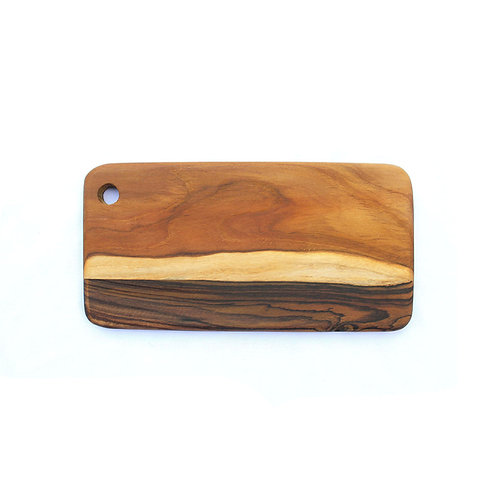 Striped Two-Wood Board - Teak / Rosewood Root