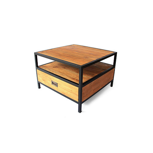 Square Coffee/Side Table - Recycled Teak
