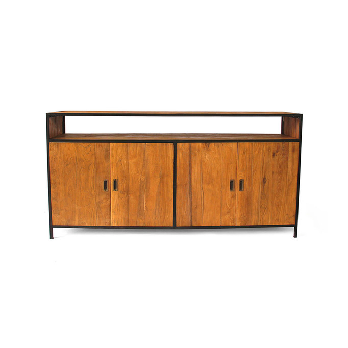 Industrial Chic Large Buffet in Recycled Teak