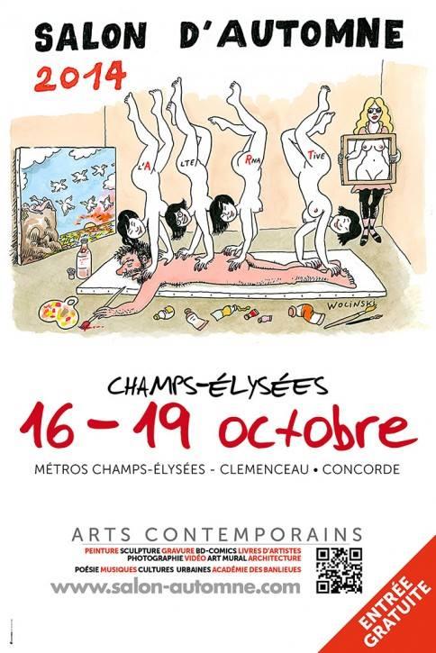 Catalogue Salon d'Automne 2014