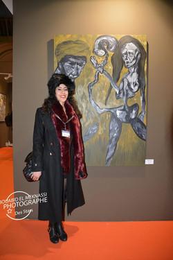 Art en Capital 2014 Grand Palais Champs Elysees Paris Houda HADDANI Dada Ksakis
