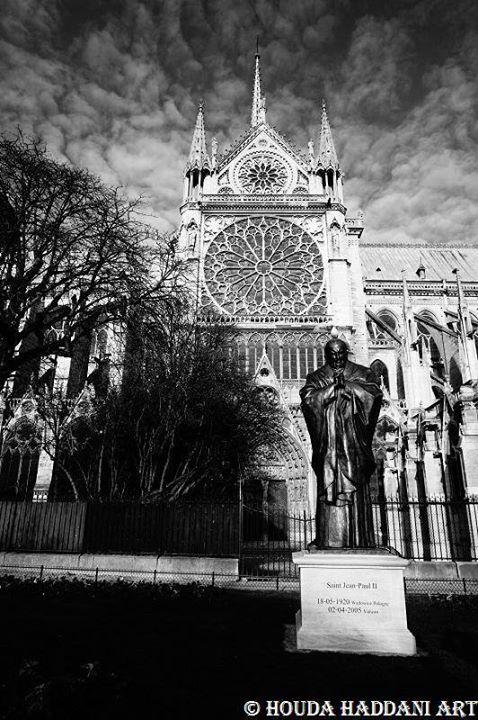 Statue de Jean Paul 2