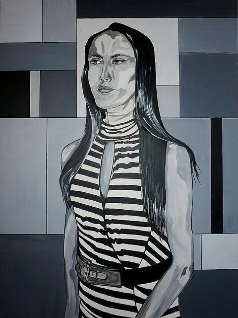Houda Haddani Selfportrait Autoportrait