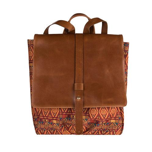 Back Pack Textil Naranja