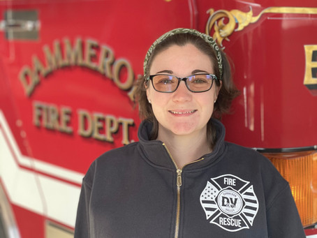 Colleen Homer joins Dammeron Valley Fire & Rescue as EMS Educator