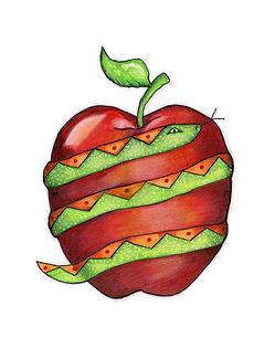 Bite me apple snake.jpg