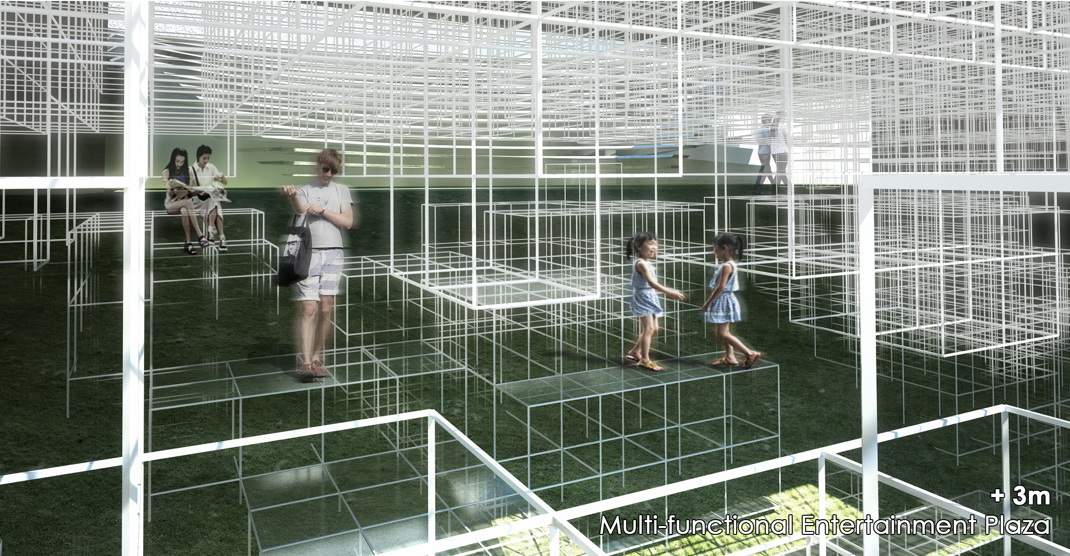 Sunken Plaza_Perspective