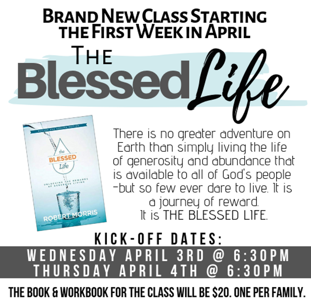 Brand New Class Starting April 3rd.png
