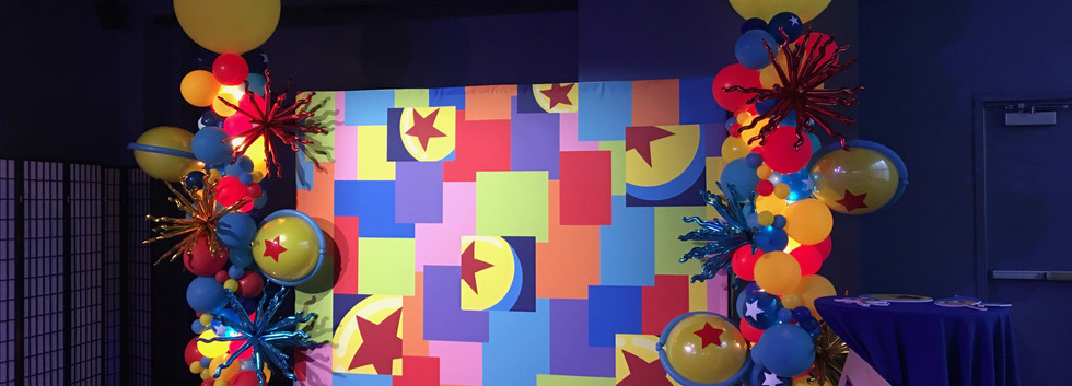 Pixar Event Photo Op
