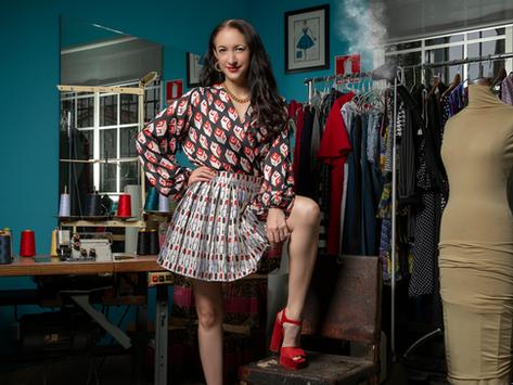 Greta Bayo: Amor por el diseño panameño