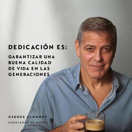 George Clooney y otras celebridades revelan el profundo cuidado que hay detrás de un Nespresso