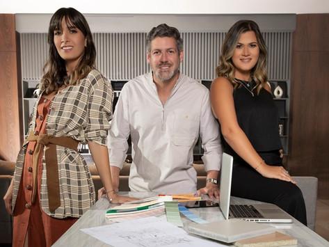 Laura Sánchez, Melissa Ortiz de Zevallos y Humberto Pappaterra: Interiorismo 3xplosivo