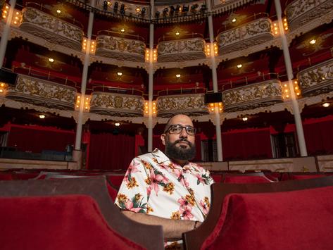 César Robles: Una energía del tejido cultural