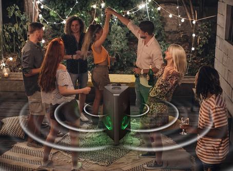 La fiesta es en casa con la Sound Tower de Samsung