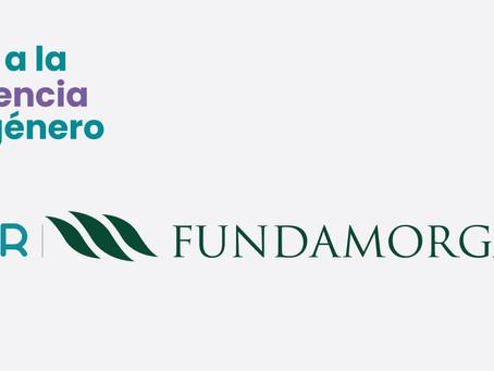 Fundamorgan y Muver lanzan campaña para apoyar a las mujeres que sufren de violencia