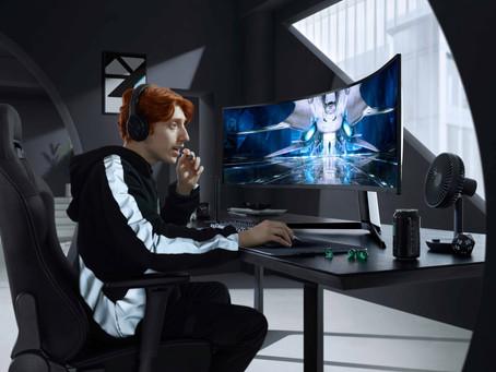 El monitor Odyssey Neo G9 de Samsunges el futuro del gaming