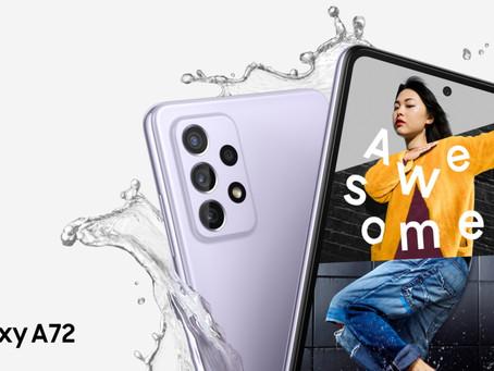 Amplía tus experiencias con el Galaxy A72
