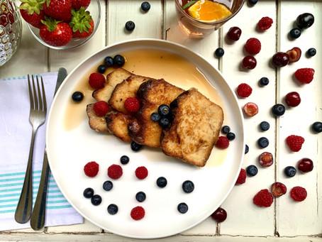 Desayuno tres veces al día
