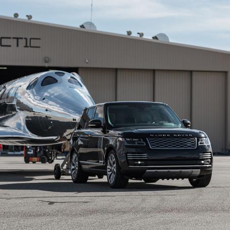 Virgin Galactic y Land Rover presentan un nuevo vehículo espacial