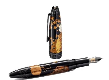 Meisterstück Maki-e Calligraphy Tribute to Kyoto Fine Craftsmanship Edición Limitada 88