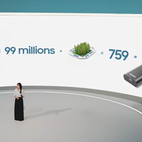 Prácticas sostenibles: los esfuerzos ecológicos de Samsung hacia un mejor mañana