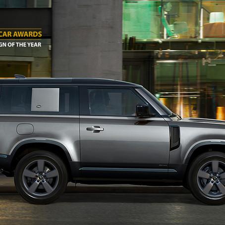 El Land Rover Defender recibe el galardón World Car Design of The Year 2021