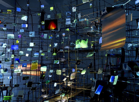 Fondation Cartier pour l'art contemporain:  Sarah Sze, Night Into Day