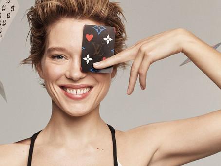 Léa Seydoux y Louis Vuitton juegan en la colección de accesorios 'Game On'