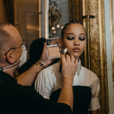 Make-Up para la colección Otoño/Invierno 2021-2022 de Dior, Ready to Wear