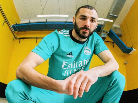 adidas presenta el tercer uniforme del Real Madrid
