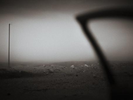 Raining in the desert