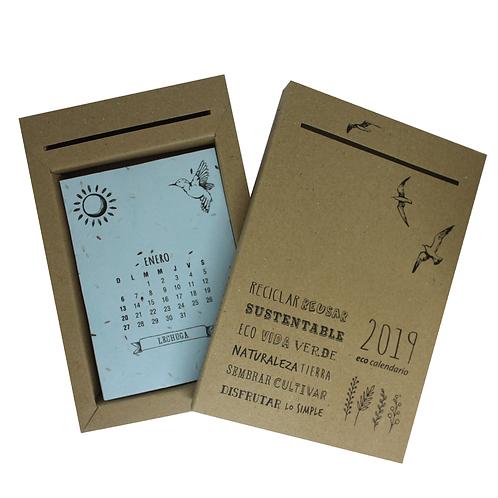 Calendarios de hojas plantables -ECO1
